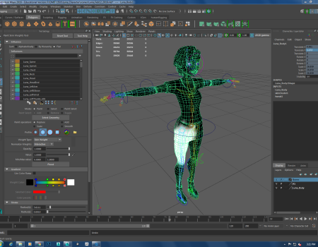 Rigging & Animation: DMIT 1501